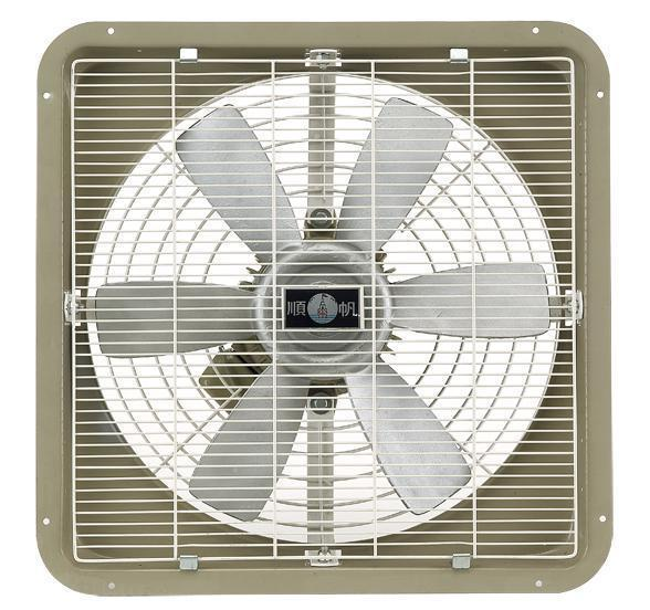 Industrial Type Wall Mounted Exhaust / Drawing Fan-Aluminum Alloy Blades