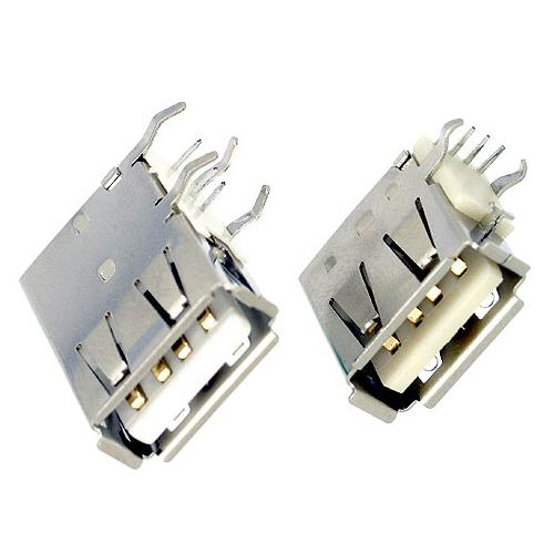 USB A TYPE SOCKET RECEPTACLE PCB DIP UPRIGHT ANGLE!!salesprice