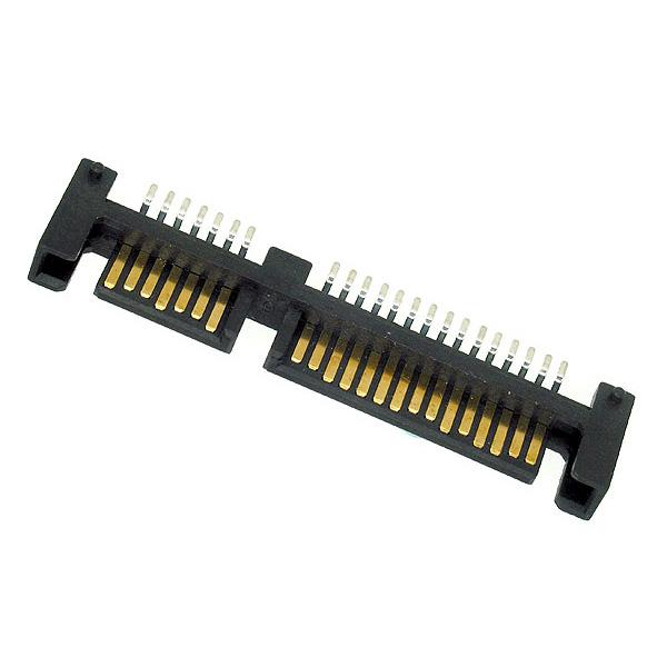 SATA 15+7PIN PLUG RIGHT ANGLE SMT TYPE WITH SMT LATCH!!salesprice
