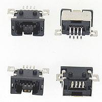 MINI USB 4PIN SOCKET RECEPTACLE PCB SMT TYPE!!salesprice