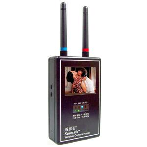 Mini Wireless Camera Hunter 900 MHz - 3.0 GHz, 5.0 �V 6.0 GHz Full Band Video Scanner