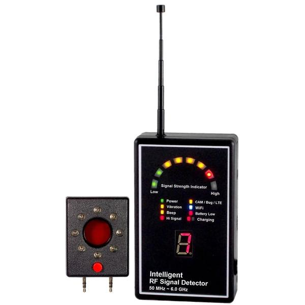 Professional RF Signal Detector with Unique Two stages sensitivity adjustment  + Lens Finder  + Expert 3G 2100 Detection!!salesprice