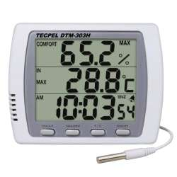 Hygro Thermometer with Alarm Clock