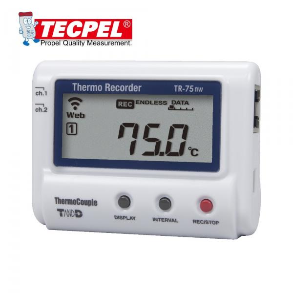 TandD TR-75nw  Thermoocuple Temperature Data Logger!!salesprice
