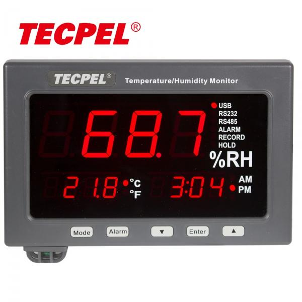 Temperature Humidity meter LED Monitor with Data logger!!salesprice