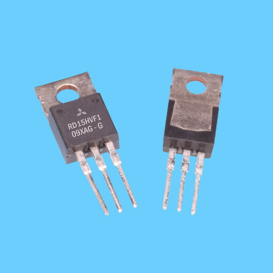 MITSUBISHI Silicon MOSFET RF Power Transistors, RoHS Compliant, 175MHz 15W / 520MHz 15W, TO-220S