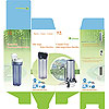 2 Stage / 3 Stages / 4 Stages Under Sink Filter Purifier (#CAS-FPUS-2/3/4)