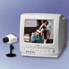 10 Color 4CH Monitor with Color Camera - WJ-700