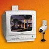 Built-In 2.4GHz Wireless Monitor System (10 B/W & Color Monitor System) - WJ-910