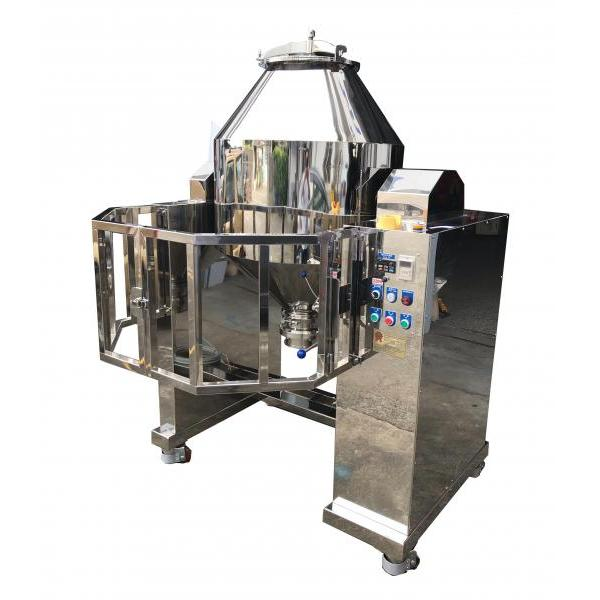100Kg Stainless Steel Double Cone Powder Blender - RT-NM150SB