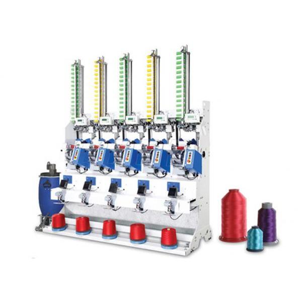Automatic Bonded Yarn Cross Cone Winder (5 Spindles)
