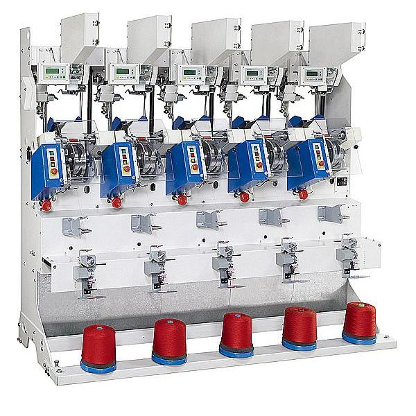 Automatic Sewing Thread Cross Cone Winder(5 Spindles) (for cylinder tube)