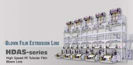 EXTRUDER/Blown Film Extrusion Line - HDAS-series