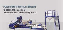 PLASTIC WASTE RECYCLING MACHINE - YDN-series