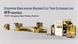PP.PET Strapping Band Making Machine