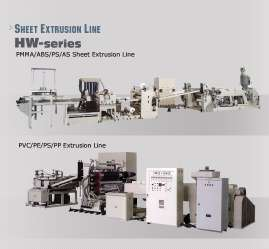 Extrusion Sheet Line - HW-120PMMA-1600