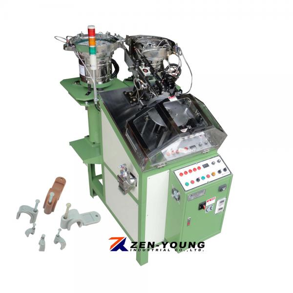 Cable Clip & Nail Assembly Machine