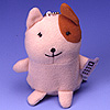 Dancing Pets For Handy Phone Accessory, Mobile Phone Accessory-Flashing & Animal Sound Key Holder - GA-983, TF-998R