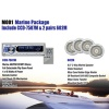 Marine Package Include MCD-7507 & 2 Pairs 602M (M001) - M001