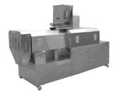 DOUBLE SCREW EXTRUDER - PUFFEDED FOOD MACHIN