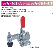 vertical toggle clamp - HS-101-A