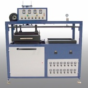 Semi-automatic sample mould machine - plastic plate machin