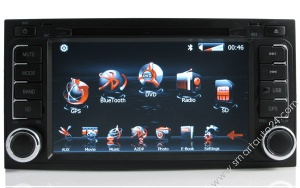 VW Touareg GPS DVD Navigation With gps radio iPod TV - VW8110