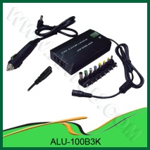 100W AC/DC Universal Laptop Adapter for Home and Car use