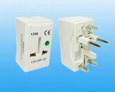Universal adaptor with Surge protection - 1306
