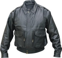 Leather Jacket - Motorcycle Clothing