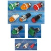 LED Indicator Light, Neon Indicator Light, Tungsten-filament Indicator Light, Indicator Light Holder - 2777,2312,2802,2917