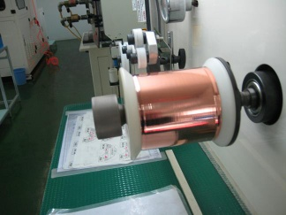 rolling machine for FFC copper flat wire and photovoltaic (pv) ribbon - yya106