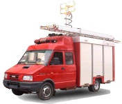 Fire trucks  - DMT-FF-IVECO-1