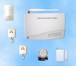 Wireless GSM Home Alarm System with Two Way Communicating Functi