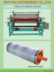 table cloth making machine moulds - 002