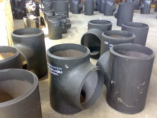 Carbon Steel Seamless Butt Welding Pipe Fittings(including Elbow,Tee,Reducer,Cap) as per A234 WPB ,ANSI B16.9,DIN,JIS.