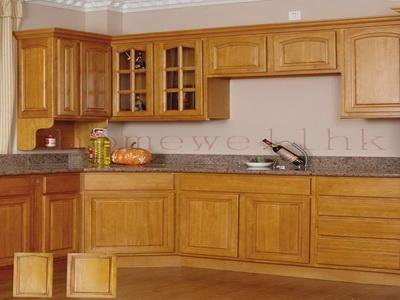 Kitchen Wood. Minimalist Kitchen Cabinet On The Modern Kitchen ...