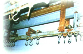 Electronic Single Rail Hanging Scales