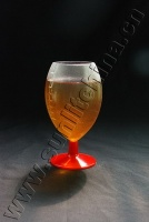 18Oz oval beer glass