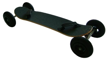 mountain skateboard