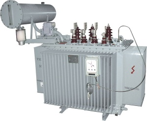 Three phase Power Distribution Transformer(oil immersed, step down transformer) - 25KVA to 1500KVA