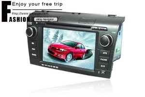 MAZDA 3 Car DVD Player with GPS Navigator (eWaygps) - car dvd for MAZDA 3