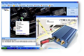 complete GPS/GPRS/GSM car tracking system with  tracking software