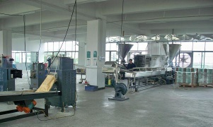 Twin screw extruder for Engineering alloy and GF reinforcing