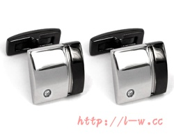 Stainless Steel Cufflinks - LS-028E