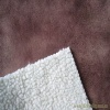 suede-bonded sherpa/ compound fabric