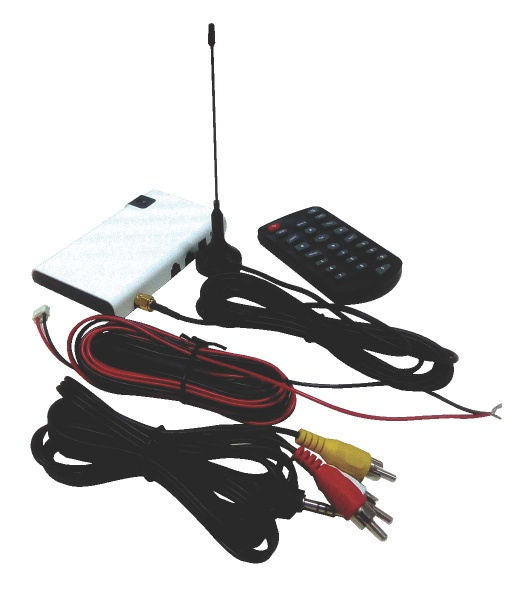 car receiver box for mobile DTV programs with ATSC-MH, ISDB-T, DVB-T standards