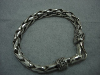 Wheat Chain Bracelet with Hook