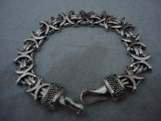 Byzantine Chain Bracelet with Hook