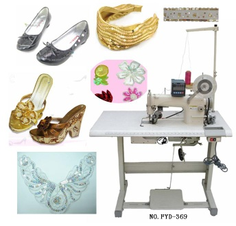 Electronic Sequin Stitching Machine - FYD 369